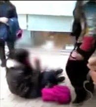 Brutal Paliza a una Estudiante Española