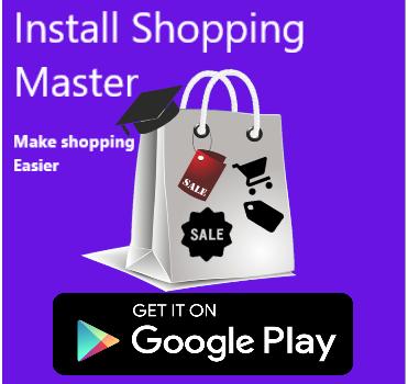 Install Shopping Master
