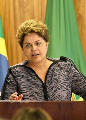 Presidente Dilma Roussef fala  no Fórum Brasileiro de Mudanças Climáticas.  Foto Planalto.gov.br