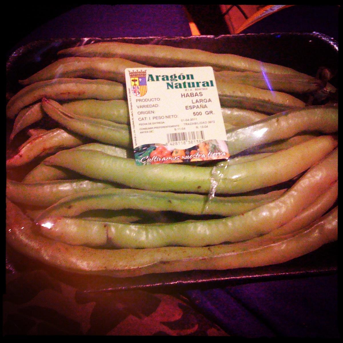 Pansinblog el blog sinsal habas frescas con chorizo - Habas frescas con jamon ...