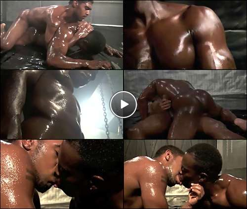 from Marley black gay video wrestling