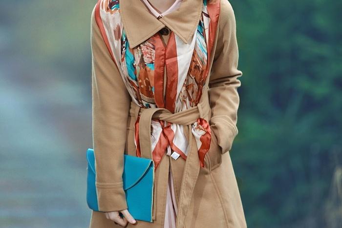 módní blogerka, praha, lucie srbová, yoins printed scarf