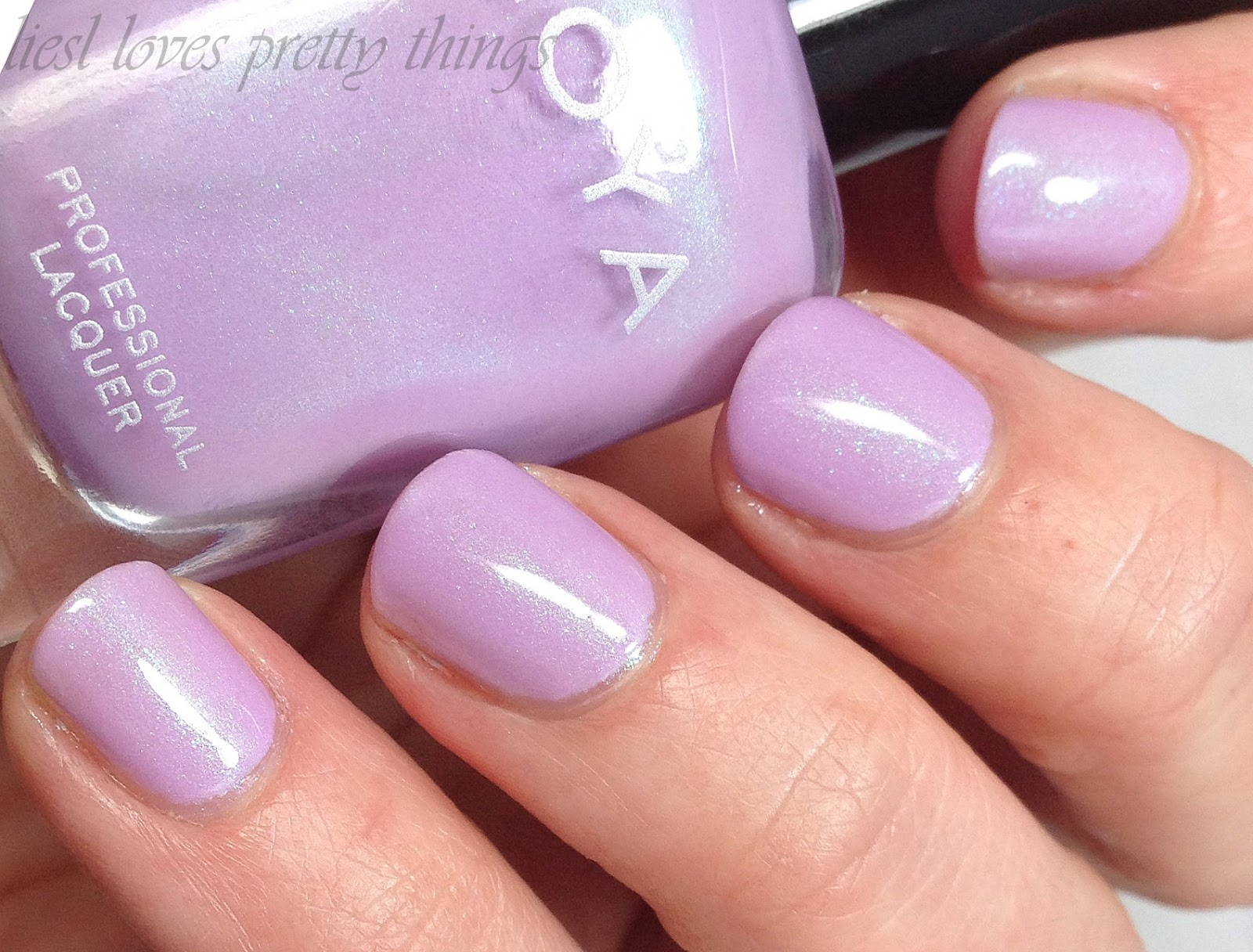 Zoya Leslie swatch and review-- Delight 2015