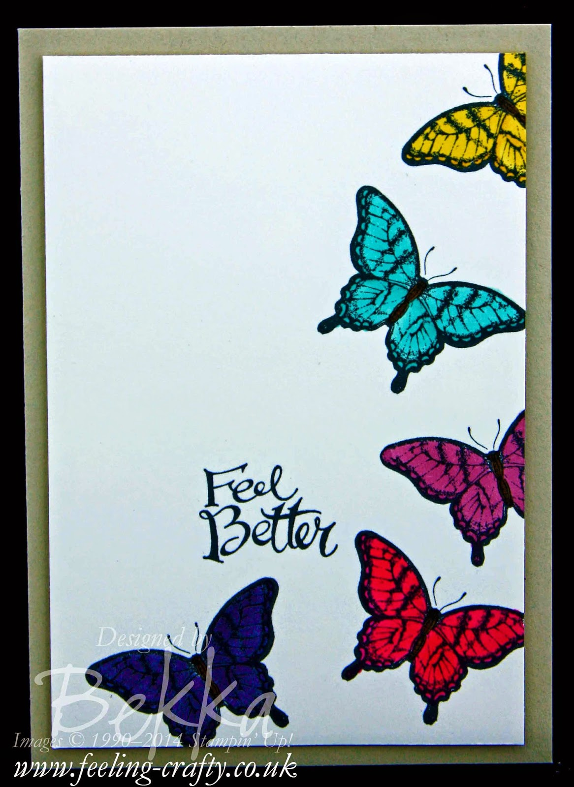 Simple colouring with the Stampin' Blendabilities - check out this blog for lots of cute ideas