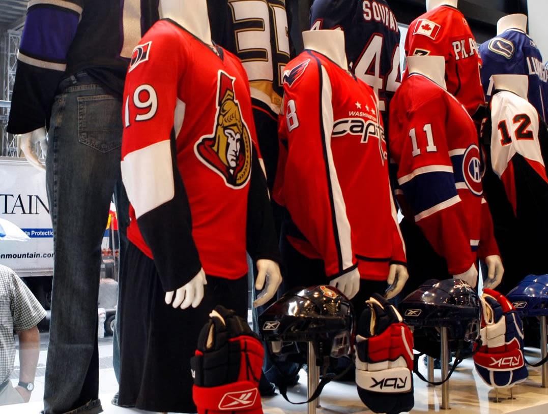 adidas quiere ser el reemplazante de Reebok en la NHL