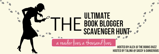 Ultimate Book Blogger Scavenger Hunt, InToriLex, Giveaway