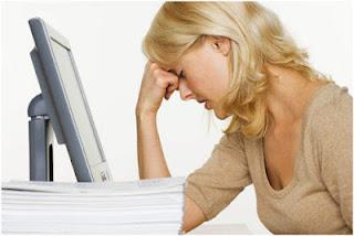 mengurangi rasa lelah saat di depan komputer