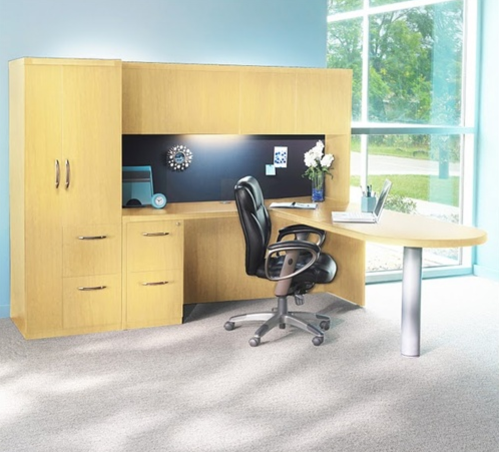 Organized Mayline Aberdeen Executive Desk