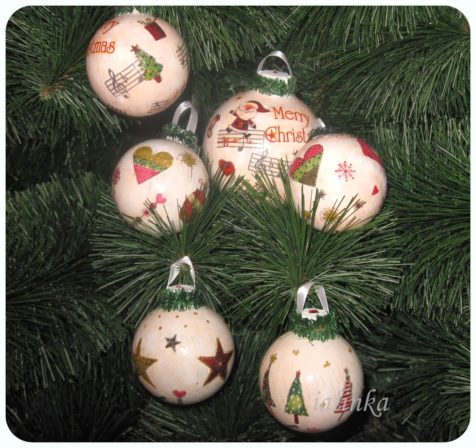 hand  made игрушки  на  елку  своими  руками  декор новый  год