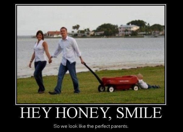 funny, perfect parents