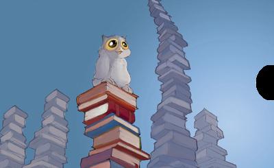 Yoyomaus die Büchereule