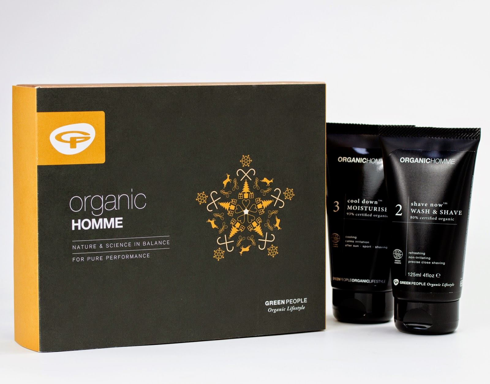 Organic Homme Shave and Moisturise Pack