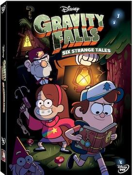 Capa Gravity Falls Um Verão de Mistérios DVDRip AVI RMVB Dublado 2013 capa