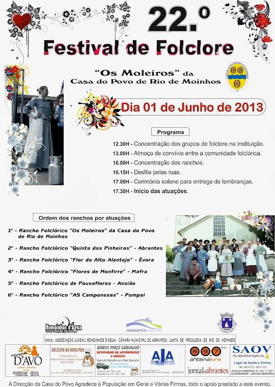 22º Festival de Folclore 2013