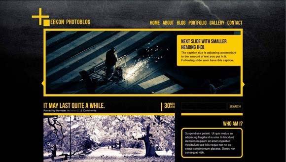 Eekon Photoblog - Wordpress site & blog