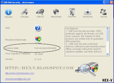 Zbshareware USB Disk Security 5.1.0.0