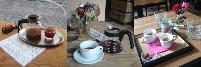 Filtr v Café Eleven, Filtr ve SKOG Urban Hub, Espresso V Melounovém cukru