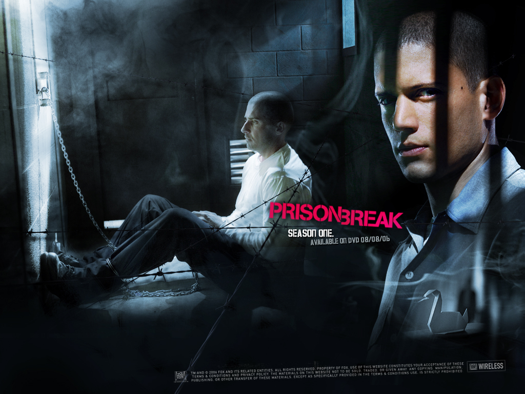 prison break season 1 the best season of the best series. Black Bedroom Furniture Sets. Home Design Ideas
