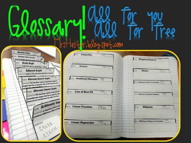misscalcul8: Vocabulary Homework