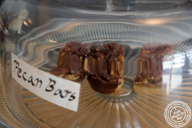 Image of Pecan bars at Little Fox Cafe in Chinatown, NYC, New York