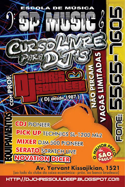Curso Livre Para DJ`s by DJ Chris Souldeep