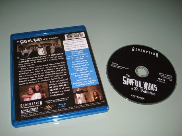 Nuno Dvd Collection The Sinful Nuns Of Saint Valentine U