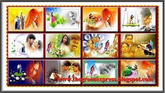 Indian Wedding Latest Album Templates 12x24 Psd Files Free Download