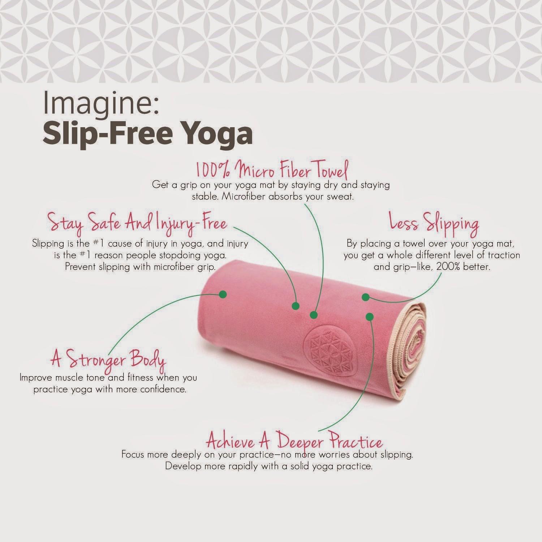 Hopping Through Life : Shandali Hot Yoga Towel Review