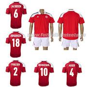 camisetas futbol baratasCamiseta Dinamarca 1 Equipacion 201213
