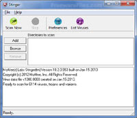 free download McAfee AVERT Stinger 12.0.0.506 pc security software