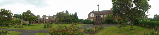 Conningsby Hospital Hereford Rose Garden