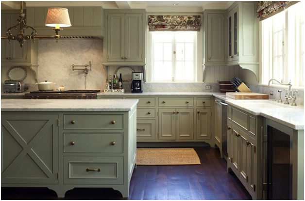 Kitchen Cupboards Different Colours : kitchen of a different color…  Essence Design Studios, LLC