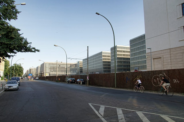 Baustelle BND, Bundesnachrichtendienst Chausseestraße, 10115 Berlin, 07.07.2013