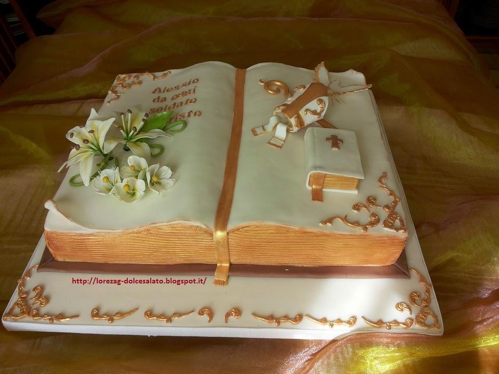Favorito LE TORTE DI LORENA .E NON SOLO!!!!!: Torta Cresima di Alessio MZ85