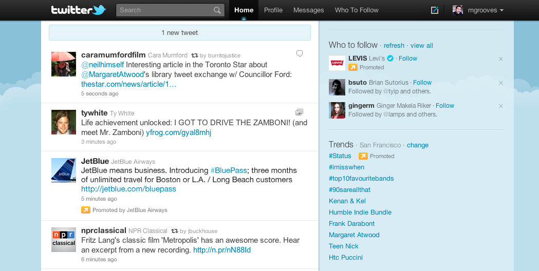 Twitter gets down to business with promoted tweets ...
