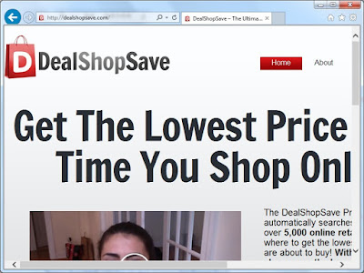 DealShopSave.com screenshot