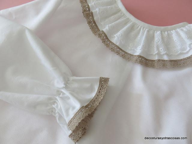 tutorial de costura blusa bebé