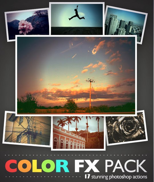 15 Time Saving and Free Photoshop Actions for Designers