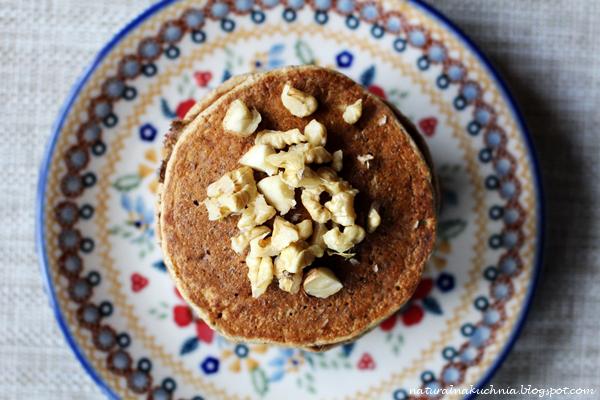 Naturalna Kuchnia Wegetariańska Pancakes Dyniowe Z Miodem I