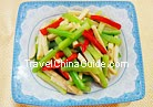 Celery and Dry Bean Curd