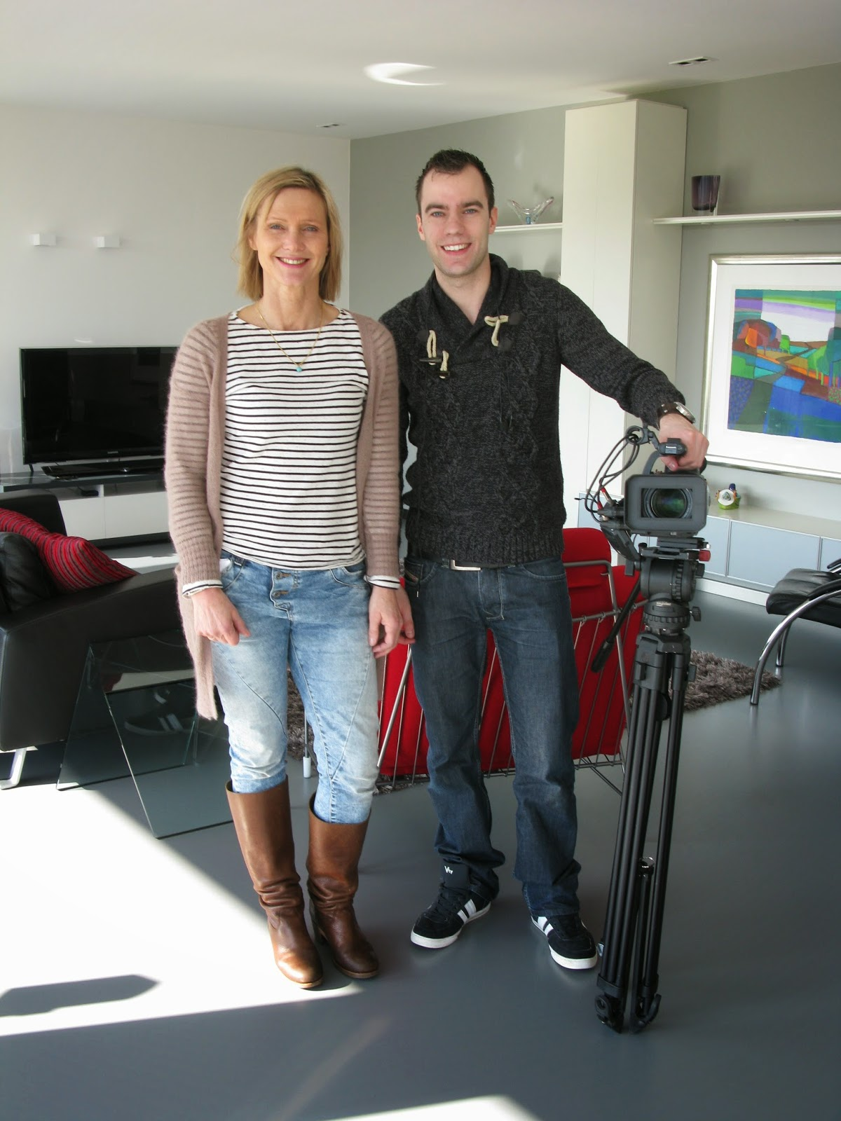 Opnameploeg RTL4 Programma Ons Huis Verdient Het