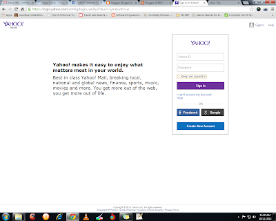 Yahoo Login New UI Looks