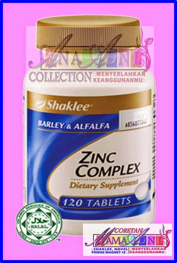 Banyaknya kebaikan Zinc Shaklee