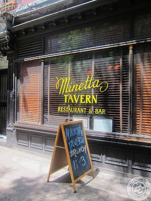 image of Minetta Tavern in NYC, New York