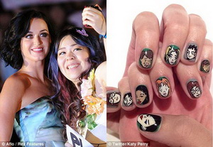 katy perry cartoon nails Daria