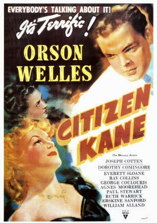 Citizen Kane: world top best movie ever in the cinema history