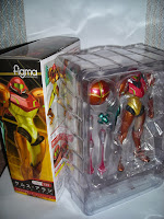 Figma Samus' packaging insert tray