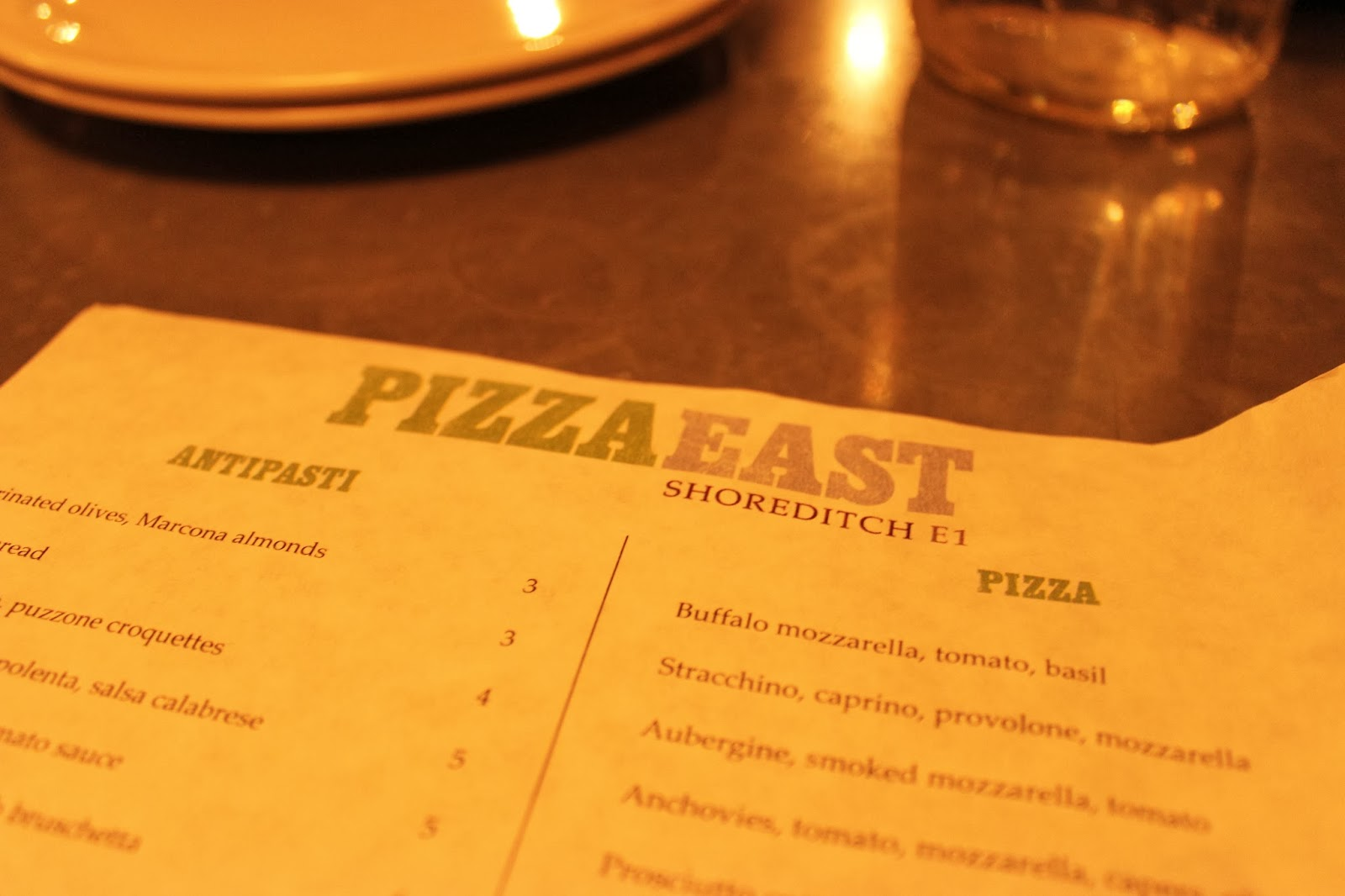 Pizza East, Shorditch, London, East London, Food, Pizza, Italian, Central London, That Guy Luke, Blog