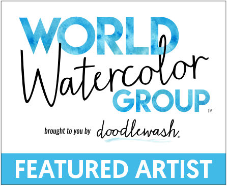 Click below for article - Journey to Magical Watercolors