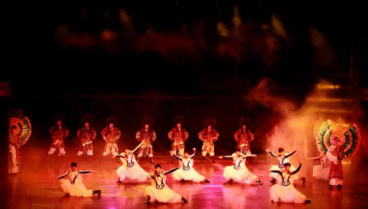 Sebuah Pertujukan Opera di China. 2011